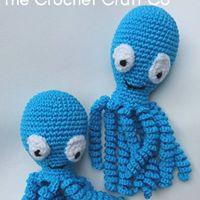 CE tested crochet Octopi