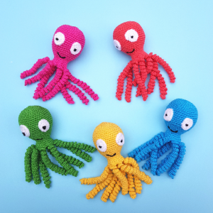 crochet octopus - The Crochet Craft Co