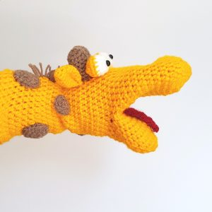Crochet Hand Puppet Kit - Giraffe by The Crochet Craft Co