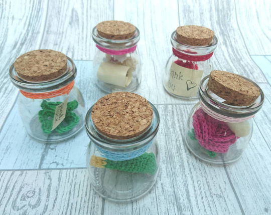 Message in a Bottle - The Crochet Craft Co