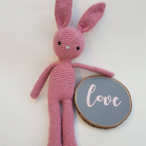 crochet bunny - The Crochet Craft Co