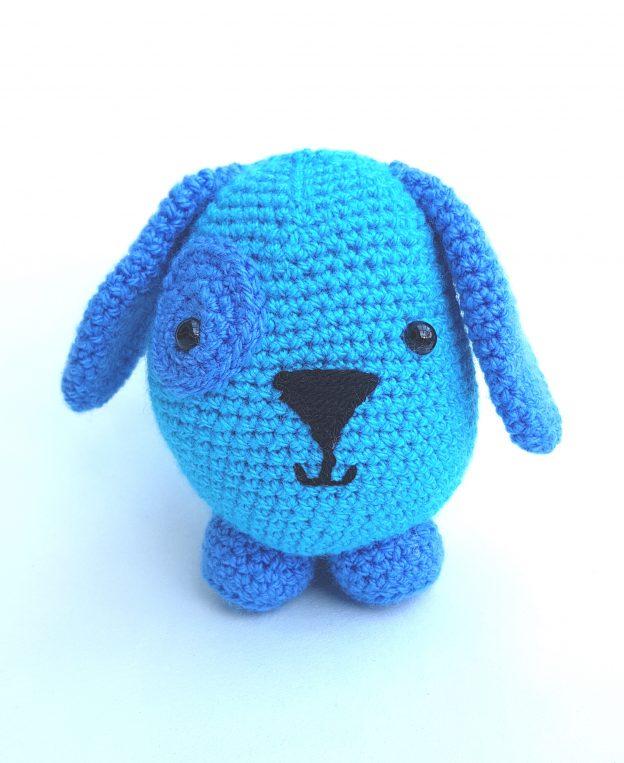 crochet amigurumi animal, amigurumi dog, crochet dog, the crochet craft o