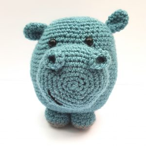 amigurumi animal - hippo crochet pattern - www.thecrochetcraftco.co.uk
