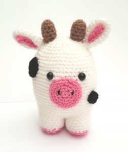 amigurumi animal - cow - www.thecrochetcraftco.co.uk