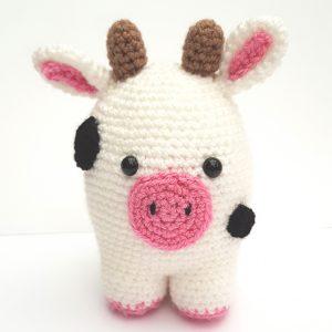amigurumi animal - cow - the crochet craft co