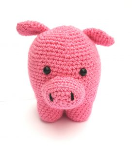 amigurumi animal - pig - www.thecrochetcraftco.co.uk