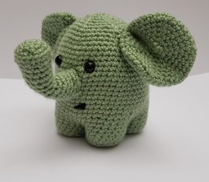 amiugurumi animal, crochet elephant pattern, www.thecrochetcraftco.co.uk