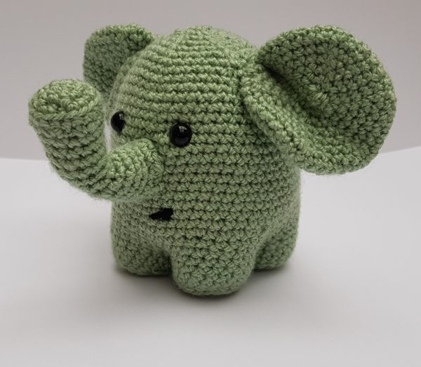 amiugurumi animal, crochet elephant pattern, www.thecrochetcraftco.co.uk