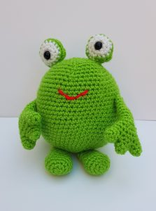 amigurumi animal - crochet frog - www.thecrochetcraftco.co.uk