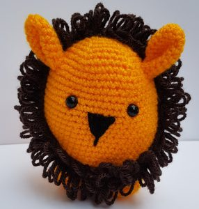 amigurumi animal - crochet lion - www.thecrochetcraftco.co.uk