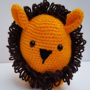 amigurumi animal - crochet lion - the crochet craft co
