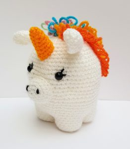 amigurumi animal - crochet unicorn - www.thecrochetcraftco.co.uk