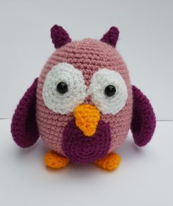 amigurumi animal - crochet owl - www.thecrochetcraftco,co.uk