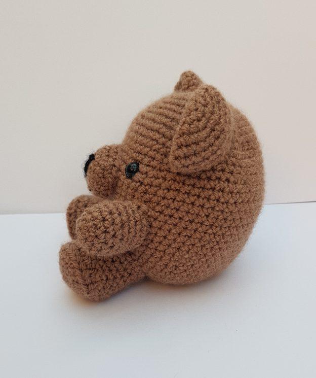 Amigurumi animal - crochet bear - the Crochet Craft Co