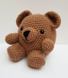 amigurumi animal - crochet bear - www.thecrochetcraftco.co.uk