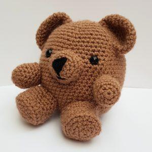amigurumi animal - crochet bear - www.thecrochetcraftco.co.uk