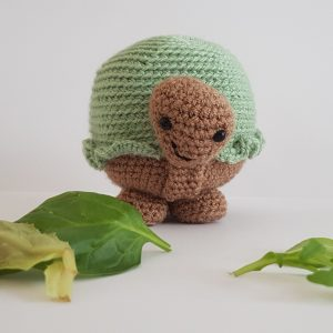amigurumi animal - crochet tortoise - the crochet craft co