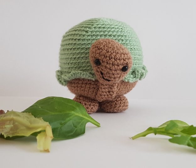 amigurumi animal - crochet tortoise - the crochet craft co
