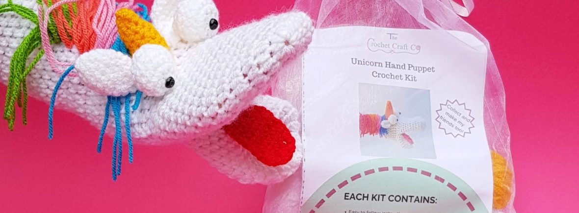 crochet kits animal kits unicorn