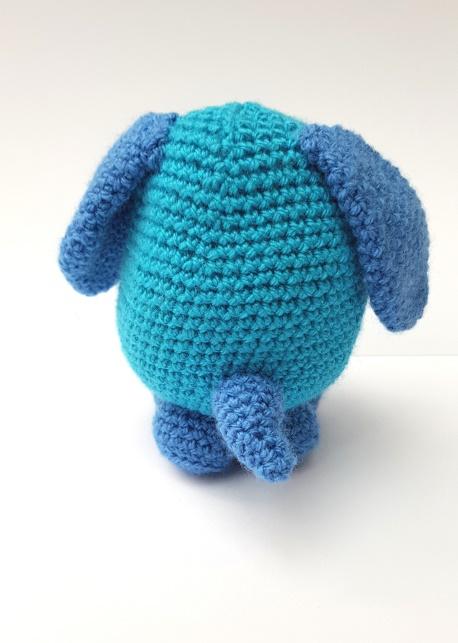 amigurumi dog - The Crochet Craft Co