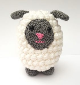 amigurumi animal - crochet sheep - the crochet craft co