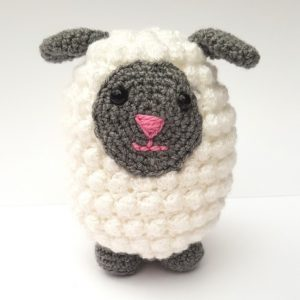 amigurumi animal - crochet sheep - the crochet craft co
