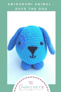 crochet amigurumi animal, amigurumi dog, crochet dog