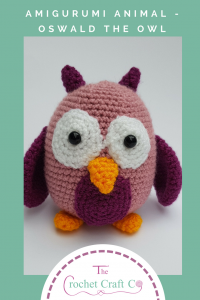 amigurumi crochet animal, amigurumi owl, crochet owl, The Crochet Craft Co