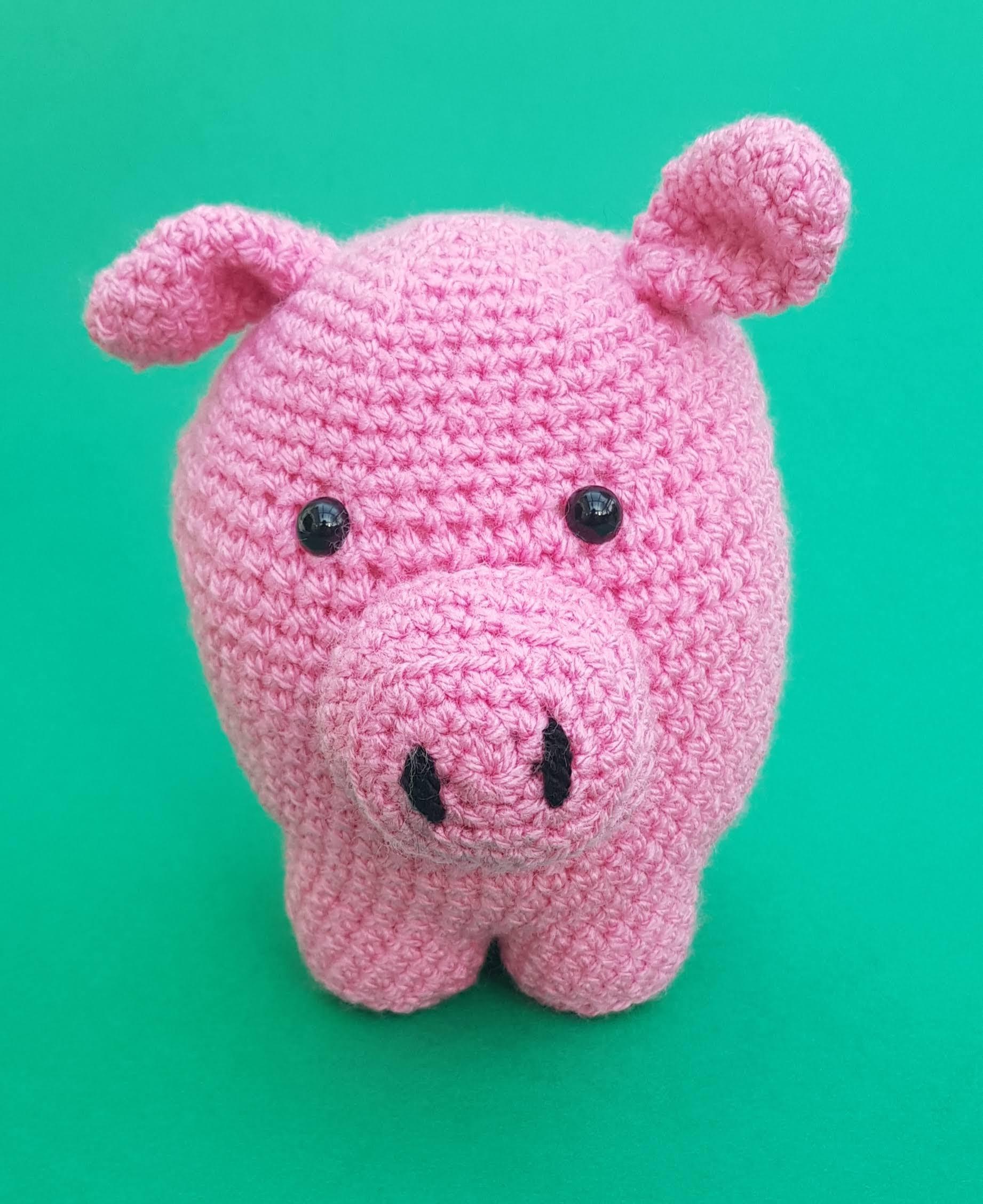 Schwein – Pig Häkeln. Amigurumi Anleitung. Als Video und ... | 2255x1842