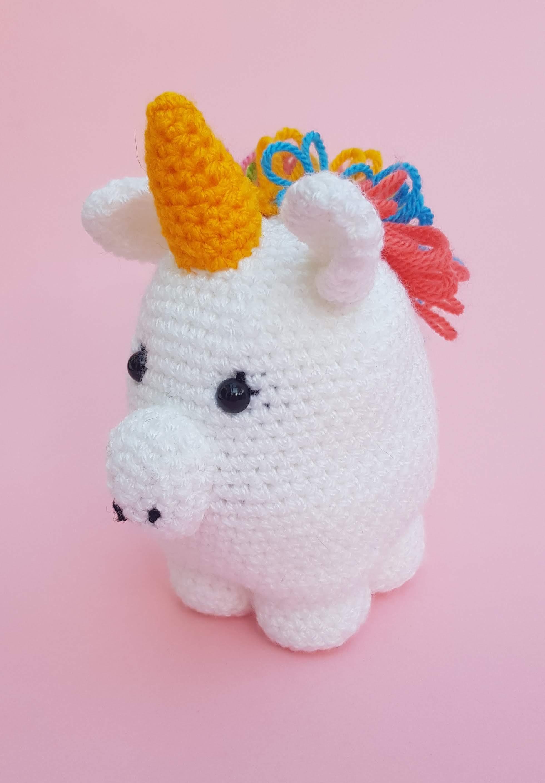 Little unicorn amigurumi | 2816x1960