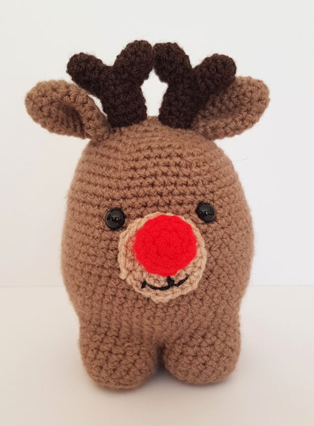 crochet creature, crochet reindeer, www.thecrochetcraftco.co.uk