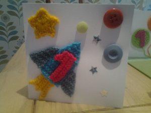 crochet card, the crochet craft co