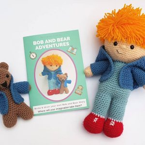 Bob and Bear Adventure, The Crochet Craft Co