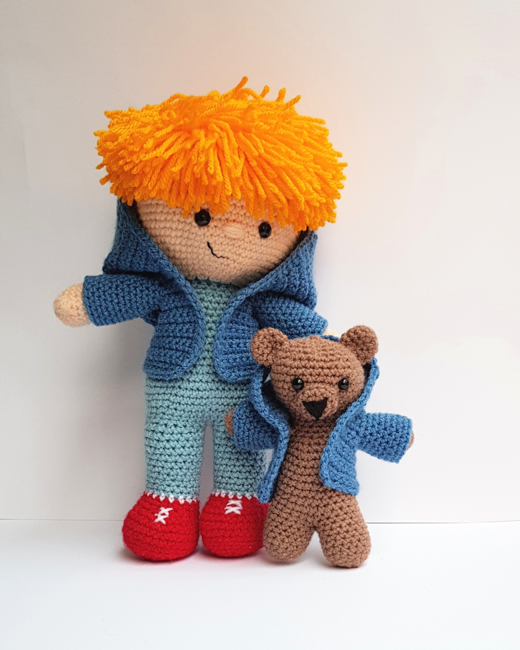 Bob and Bear Adventures, Crochet kits, The Crochet Craft Co