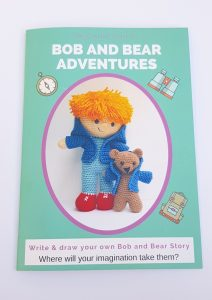 bob and bear adventure book, the crochet craft co