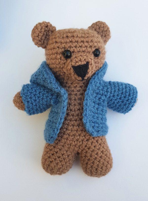 crochet amigurumi bear, the crochet craft co