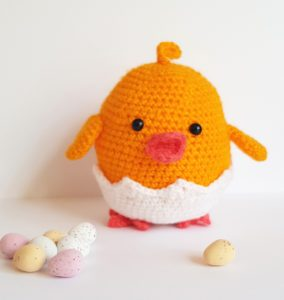 amigurumi animal, crochet chick pattern, www.thecrochetcraftco.co.uk