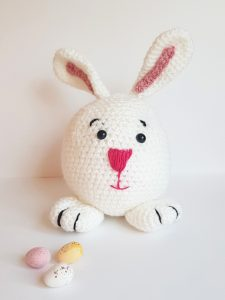 amigurumi animal, crochet bunny pattern, www.thecrochetcraftco.co.uk