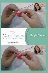 learn to do the magic circle, perfect for amigurumi. www.thecrochetcraftco.co.uk