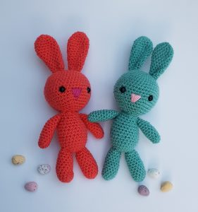 bunny crochet pattern, www.thecrochetcraftco.co.uk