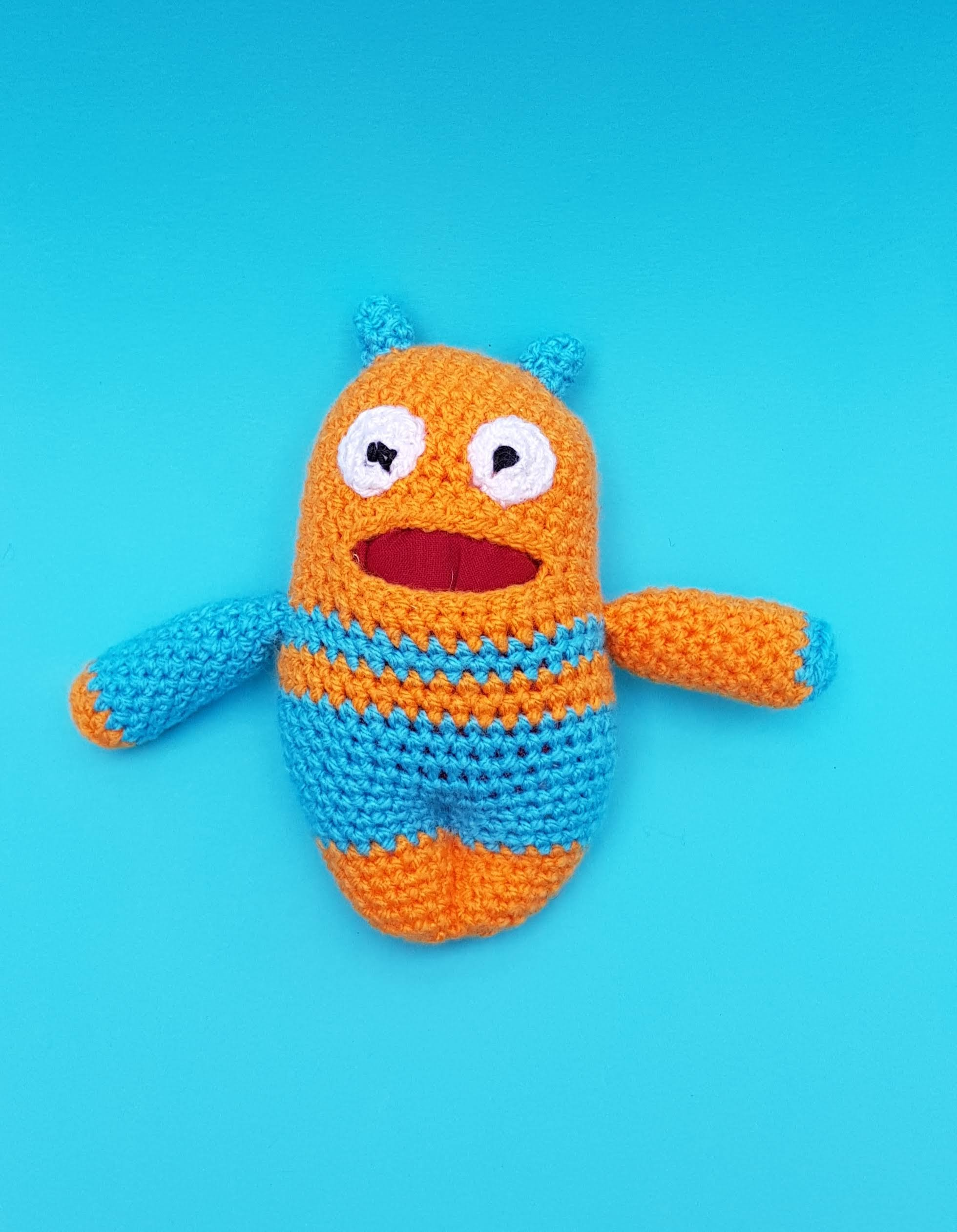 DIY amigurumi kit to crochet your own charming squirrel with ... | 2523x1960