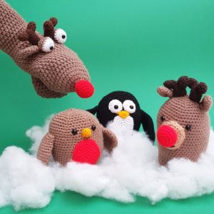 Christmas Crochet Kits, The Crochet Craft Co