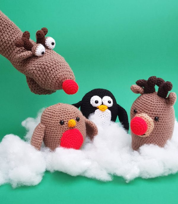 Christmas Crochet Kits, The Crochet Craft Co