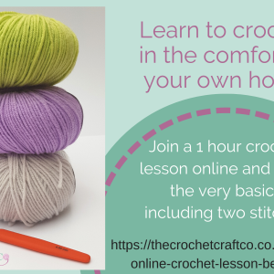online crochet lessons for beginners
