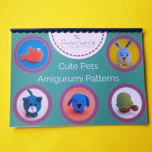 Crochet book of five animal patterns