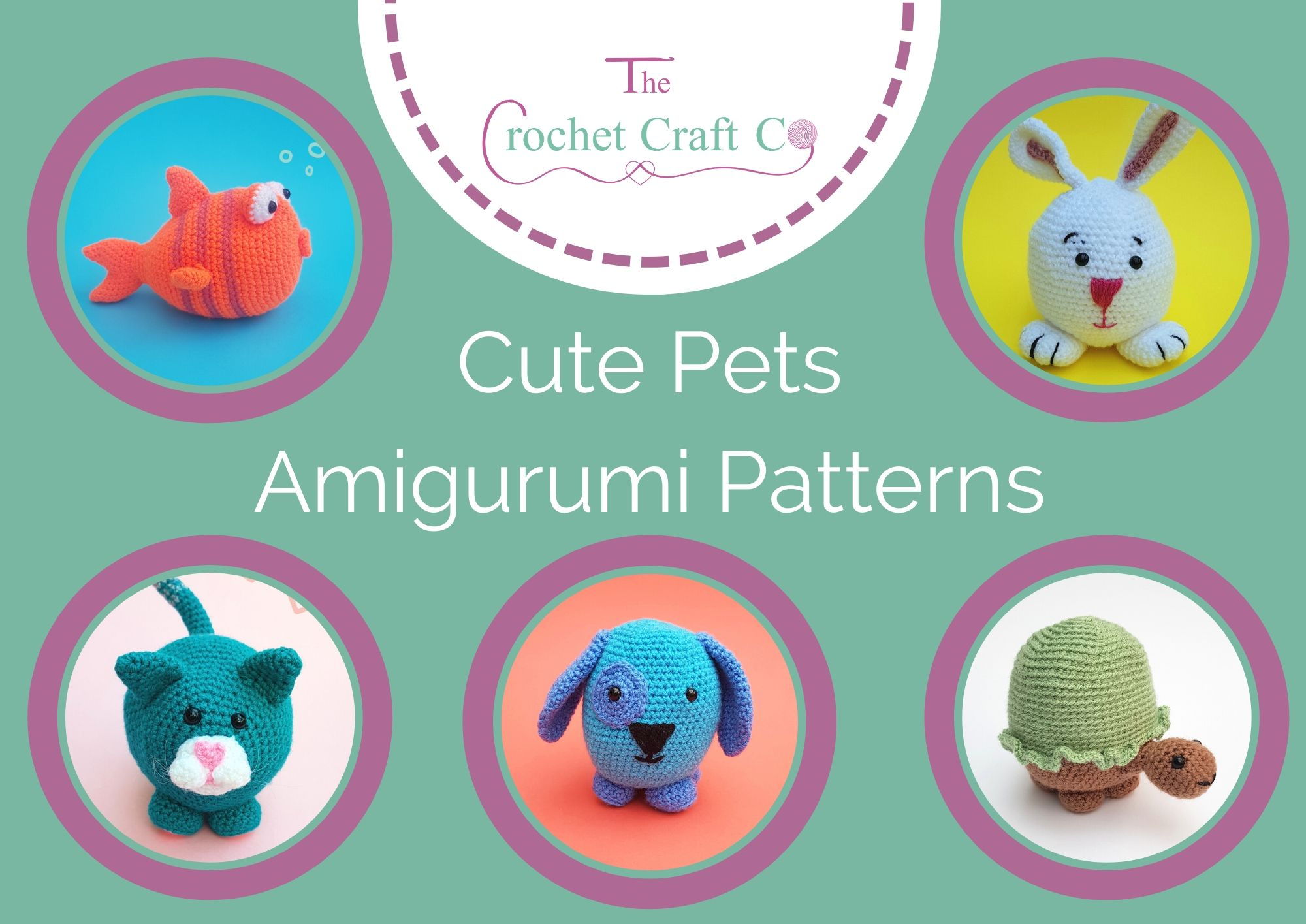 Animal Amigurumi to Crochet Pattern Book AA 871374 1 99 | 1415x2000
