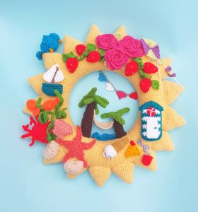 summer wreath kit