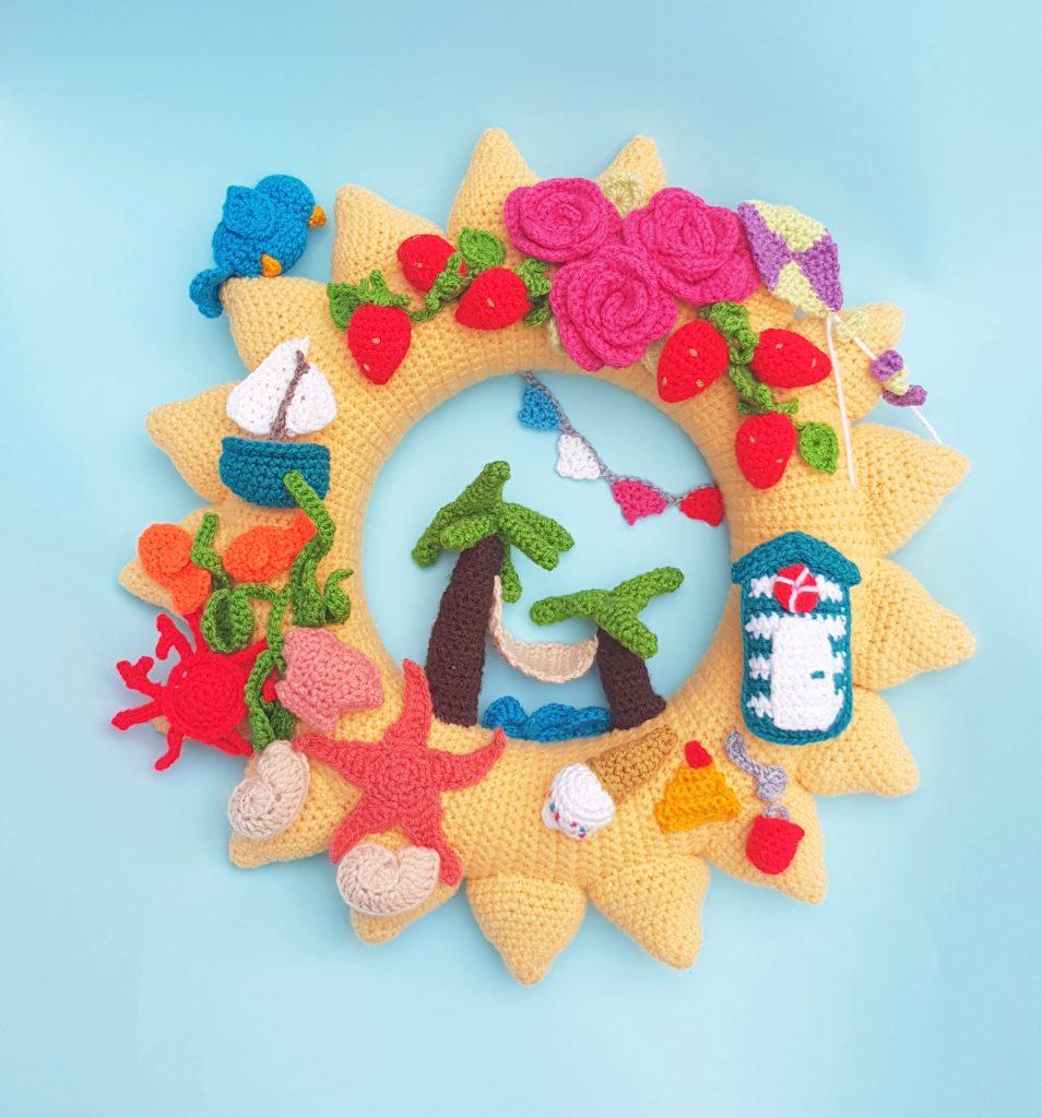 summer wreath kit